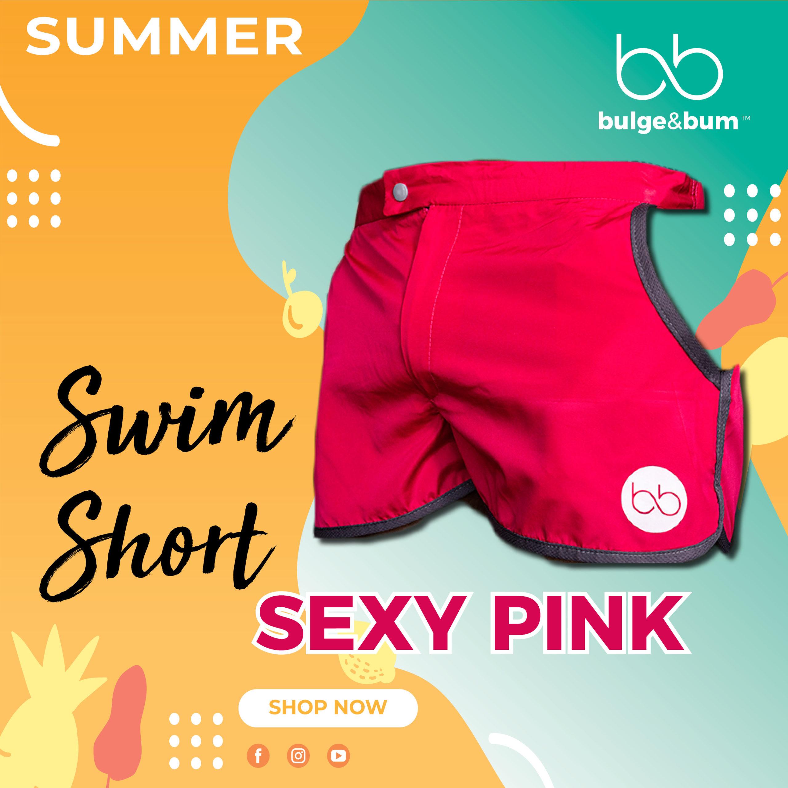 Swim Short Pink