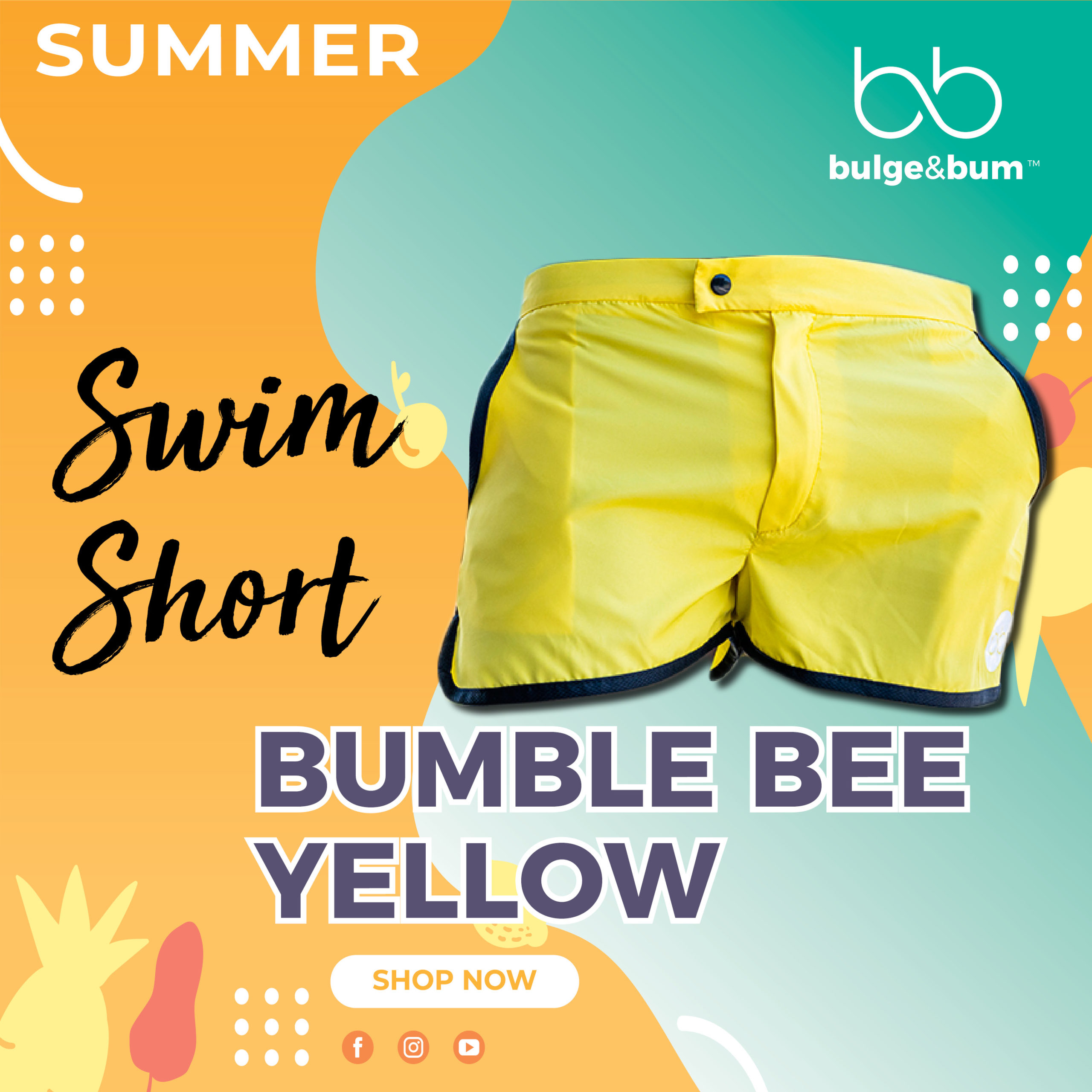 Swim Short Yellow